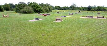 Grass Dressage Arena